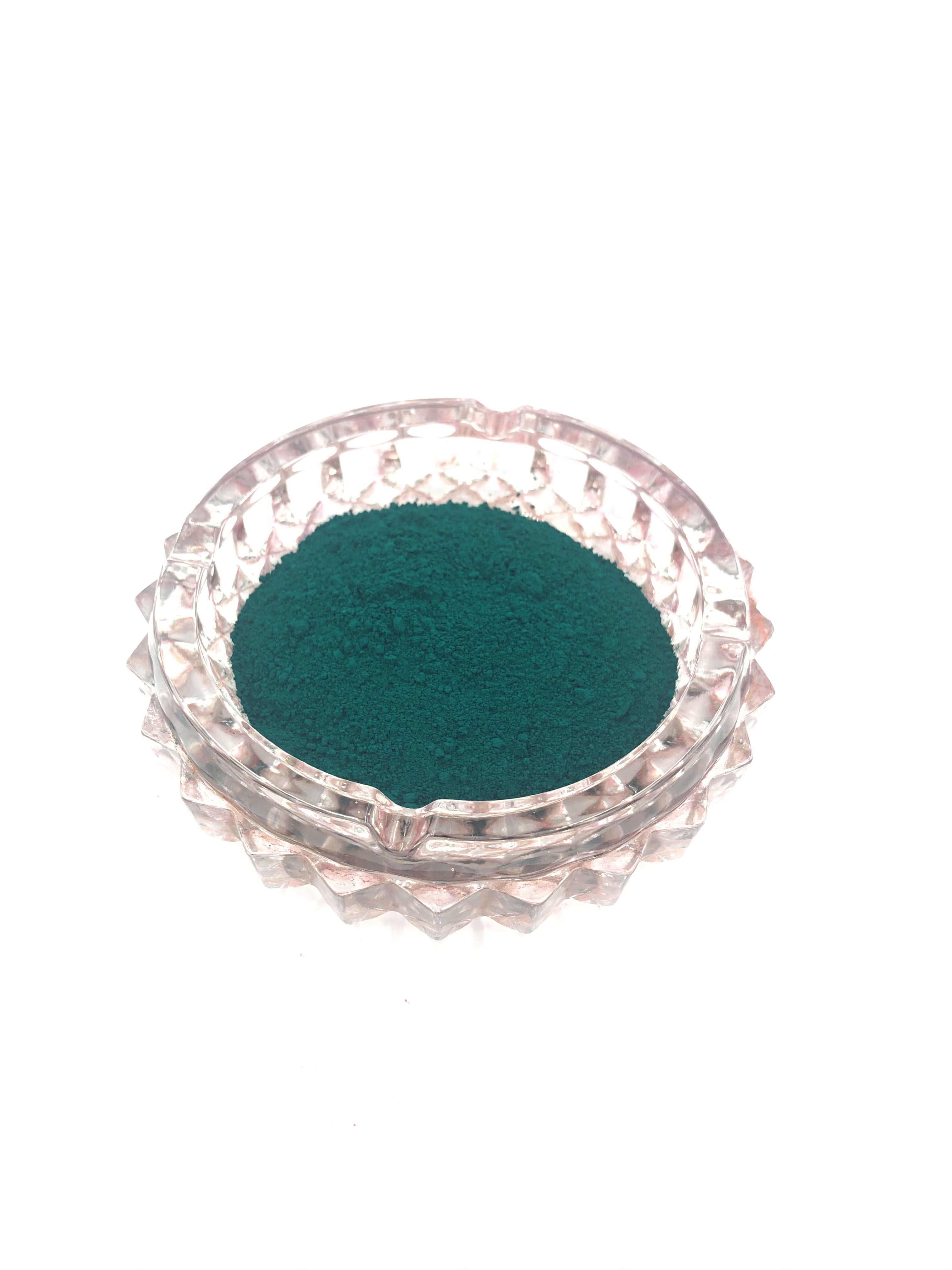 Pigment Green 7 Mainly Plastic Candle Industry Strong Tinting Strength with Great High Temperature Resistance