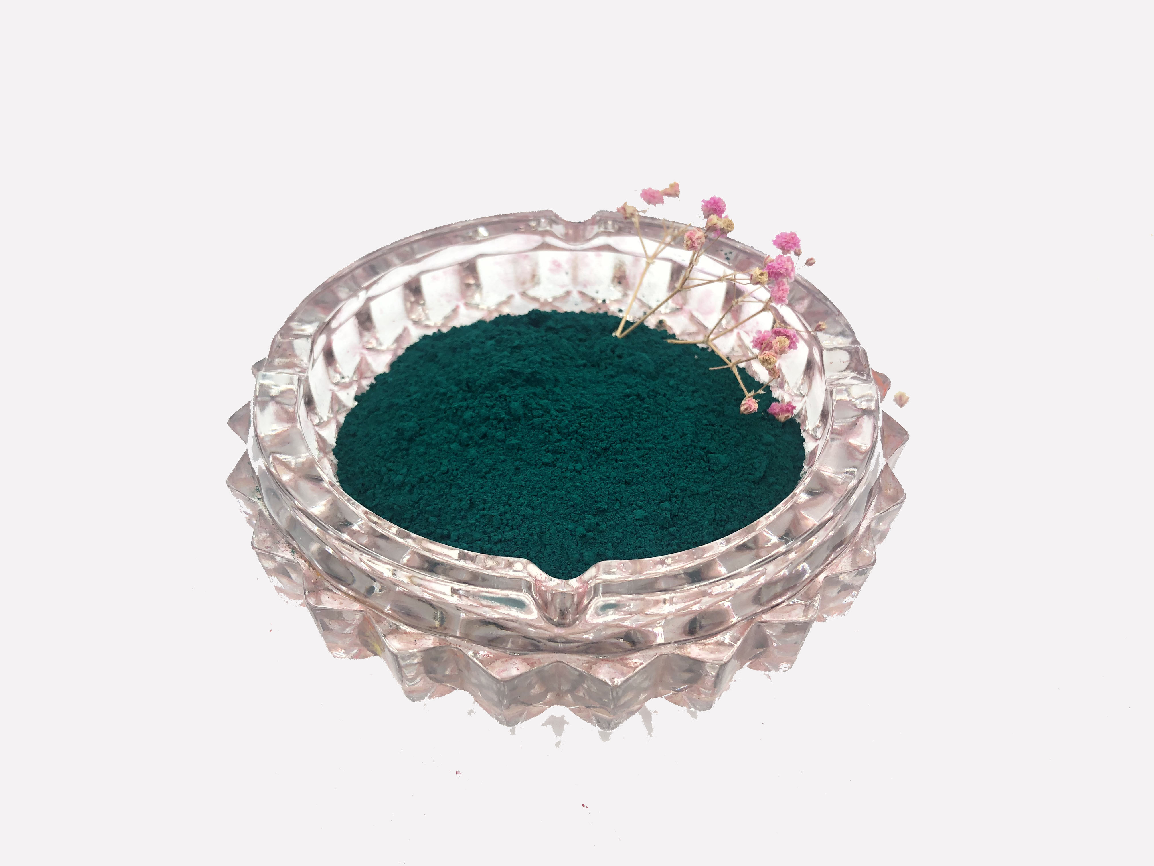 Green Colorant Mainly For Powder Coating Strong Tinting Strength with High Chemical Property